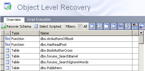 Quest-Software-LiteSpeed-Object-Level-Recovery-feature