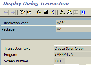 ABAP package name for any SAP transaction code on SE93