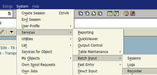 ABAP batch input recorder for mass change of SAP invoices