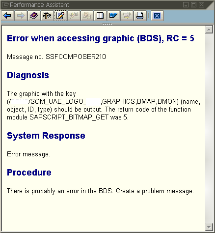 Error when accessing graphic (BDS)