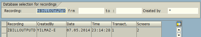 create ABAP program from batch input recording