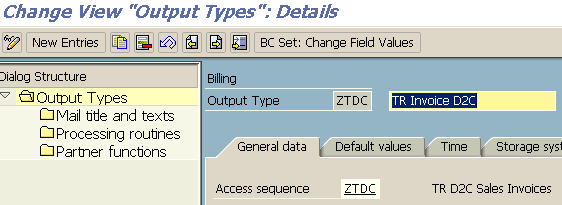 change output type for access sequence value