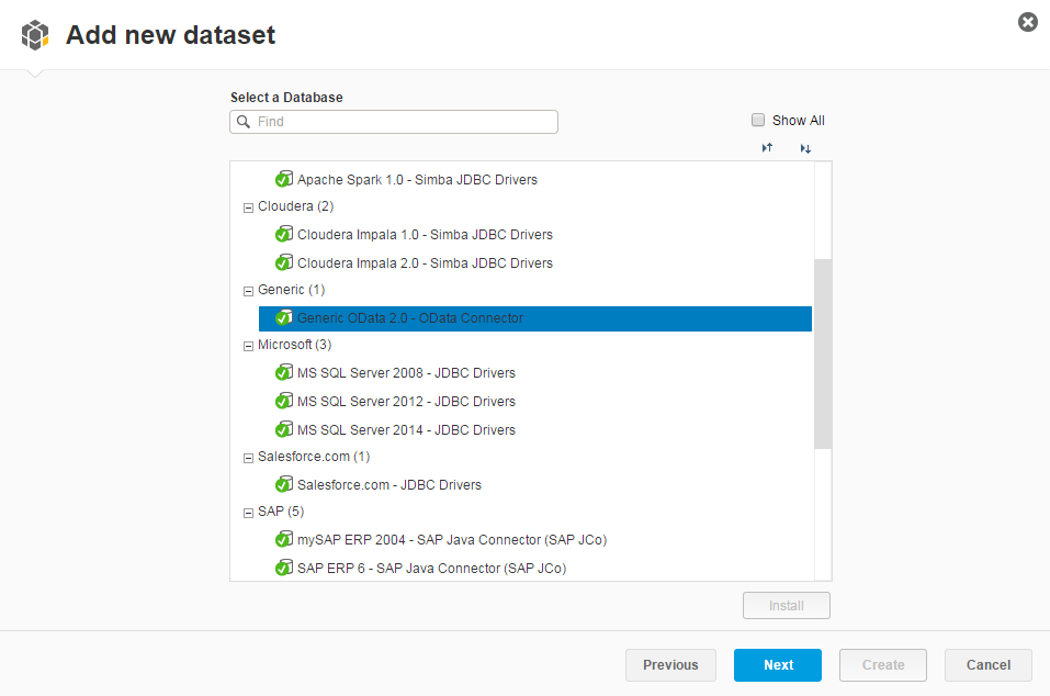 Query with SQL for SAP Lumira reports