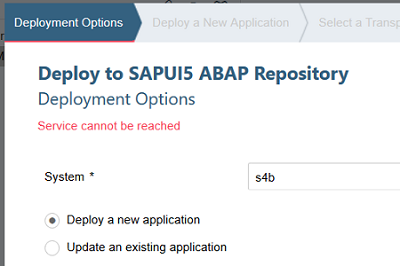 deploy to SAPUI5 ABAP Repository from SAP WebIDE