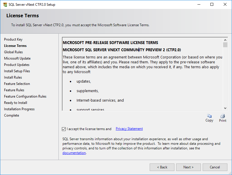 Microsoft Software licence terms